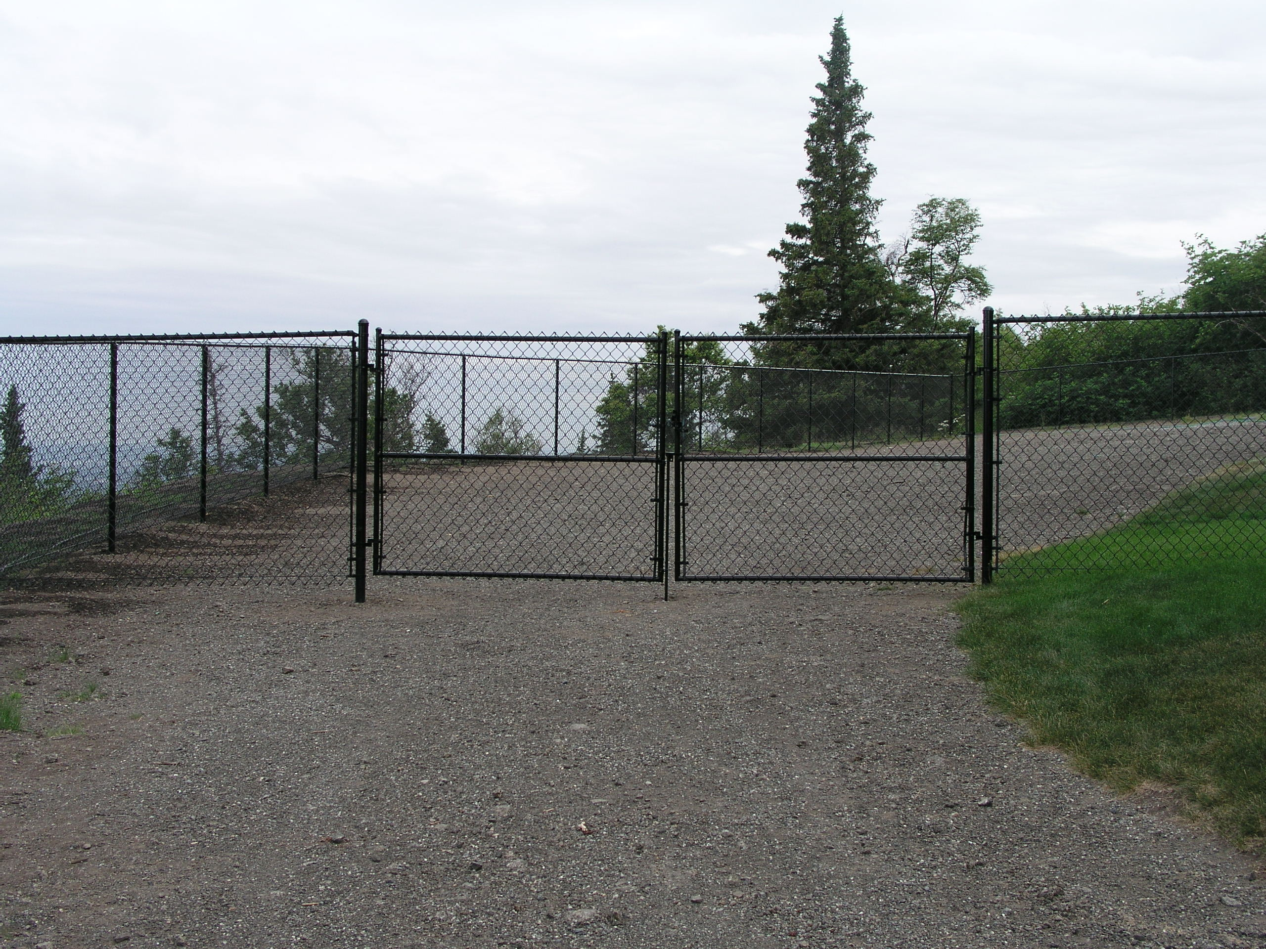 Color Vinyl Chain Link Fence Aaa Fence Inc